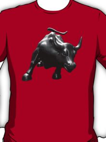 The Wall Street Bull T-Shirt