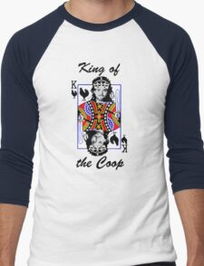 King of the Coop (light shirts ) Men's Baseball ¾ T-Shirt