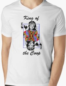 King of the Coop (light shirts ) Mens V-Neck T-Shirt