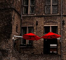 Red Umbrellas by Country  Pursuits