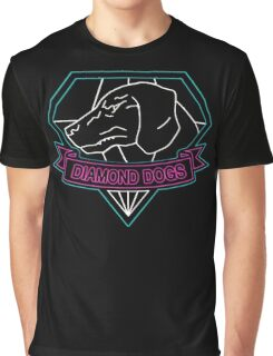 °METAL GEAR SOLID° Diamond Dogs Neon Graphic T-Shirt