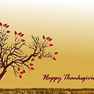 Happy Thanksgiving Greetings by Ann12art