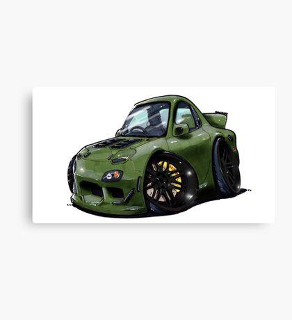 Mazda RX7-Front Canvas Print