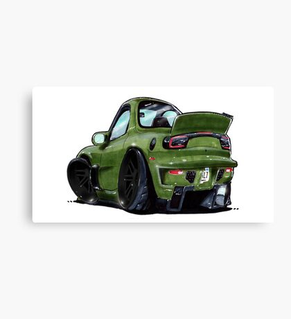 Mazda RX7- Rear Canvas Print