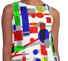 Geometric Shapes Geo Blast 1.3 by Hamlet Pericles Contrast Tank