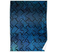 Puzzle Patterns Poster
