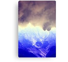 abstract mountain Canvas Print