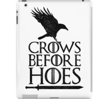Game of Thrones - Crows Before Hoes iPad Case/Skin