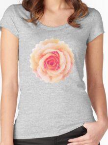 Flower Motive 2 Women's Fitted Scoop T-Shirt