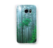 TREES IN FOG Samsung Galaxy Case/Skin