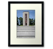 Luxembourg American Cemetery War Memorial Framed Print