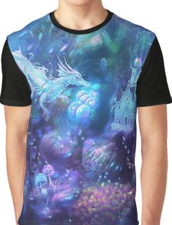 Water Dragon Kingdom Graphic T-Shirt