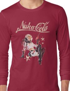 Nukacola Pinup  Long Sleeve T-Shirt