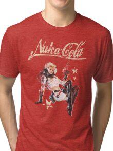 Nukacola Pinup  Tri-blend T-Shirt