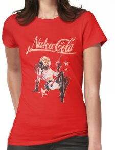 Nukacola Pinup  Womens Fitted T-Shirt