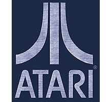 °GEEK° Atari Denim Logo Photographic Print