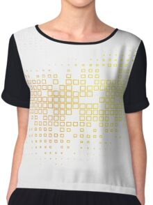 abstract desiges Chiffon Top