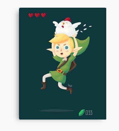 Happy Link Canvas Print