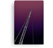 big crane Canvas Print