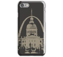 St. Louis Two-Tone iPhone Case/Skin
