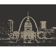 St. Louis Two-Tone Photographic Print