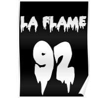 TRAVI$ SCOTT - LA FLAME Poster
