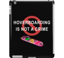 Hoverboarding iPad Case/Skin
