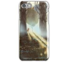 Between the Trees iPhone Case/Skin