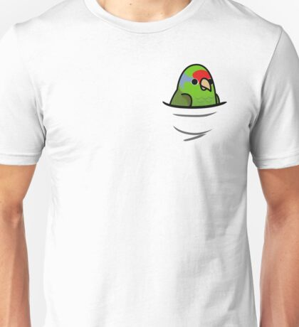 Too Many Birds! - Red Crowned Amazon Unisex T-Shirt