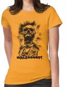 Whazup, Mr. Skullson Womens Fitted T-Shirt