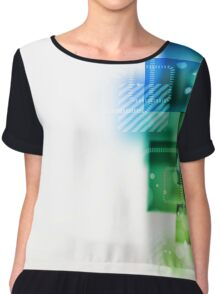 Abstract art abstract desiges Chiffon Top