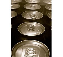 TIN CANS Photographic Print