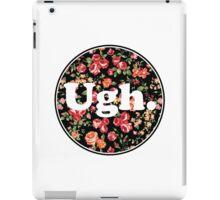 Ugh Floral iPad Case/Skin