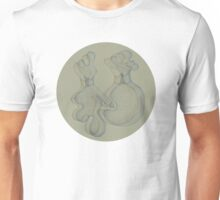Two Intertwined Forms  Unisex T-Shirt