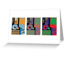 Pop Triad  Greeting Card