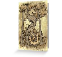 Dangerous tentacle! Greeting Card