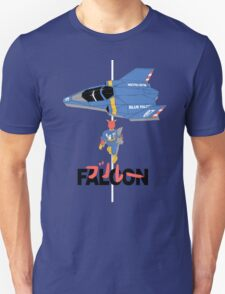 The Legendary Blue Falcon Unisex T-Shirt