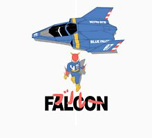 The Legendary Blue Falcon Men's Baseball ¾ T-Shirt