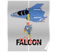 The Legendary Blue Falcon Poster