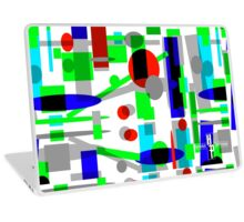 Geometric Shapes Geo Blast 1.3b by Hamlet Pericles Laptop Skin