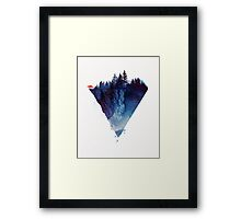 near to the edge Framed Print