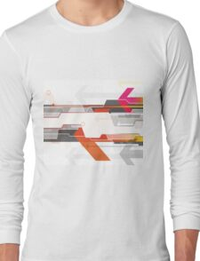Abstract art abstract desiges Long Sleeve T-Shirt