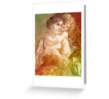 MOTHER AND ME Greeting Card