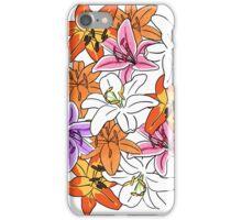 Pretty Lillies iPhone Case/Skin