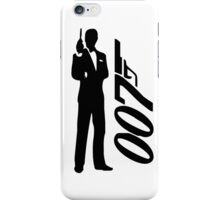 James bond - 007 iPhone Case/Skin