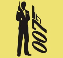 James bond - 007 Kids Clothes