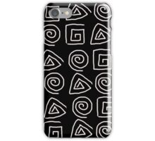 Greek symbols iPhone Case/Skin