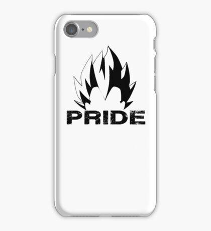 Vegeta Pride Silhouette (White) iPhone Case/Skin