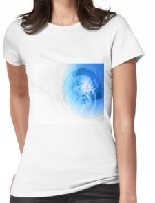 abstract desiges Womens Fitted T-Shirt