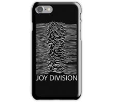 Joy Division Design iPhone Case/Skin